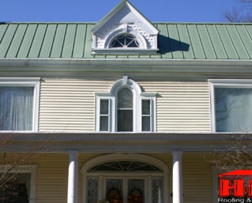 HKC Roofing & Construction Standing Seam Roofing
