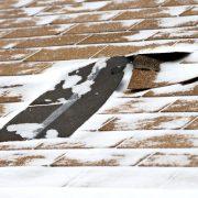 Roofing shingle damage