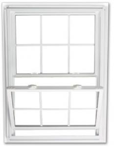 Single Double Hung window
